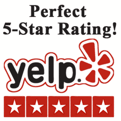 ABS Septic & Dumpster 5 Star Yelp Rating